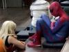 Auch Spiderman gab sich die Ehre