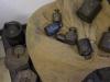 verschiedene Gewichte im Zollmuseum Friedrichs © BF
