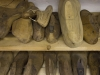 Leisten in der Schusterwerkstatt   Zollmuseum Friedrichs © BF