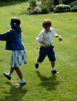 Ein Klassiker für den Kindergeburtstag: Blindekuh