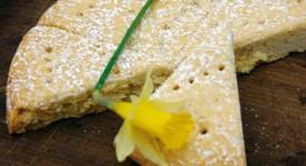 Butter-Gebäck mit Ingwer