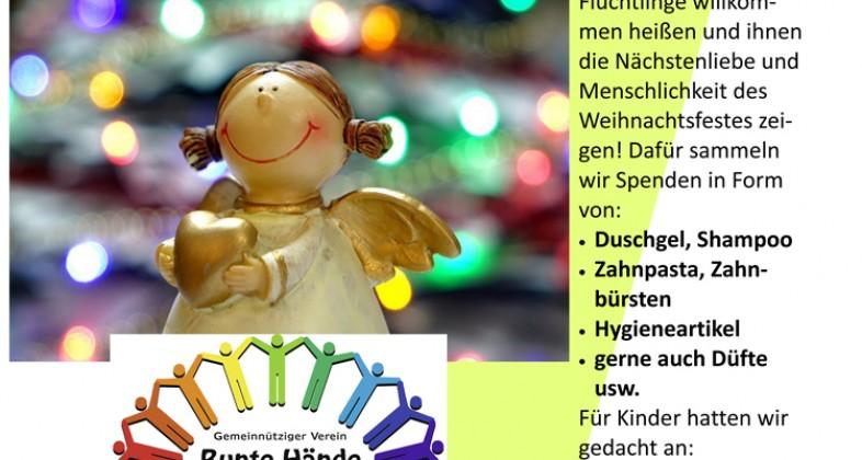 """Neuer Verein """"Bunte Hände"""" sammelt für Flüchtlinge"""