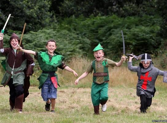 Robin Hood Festival auf Kasteel Hoensbroek